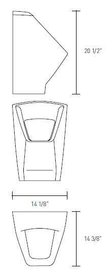 Sanitaryware-sternhagen-Golden Cut Urinal-1