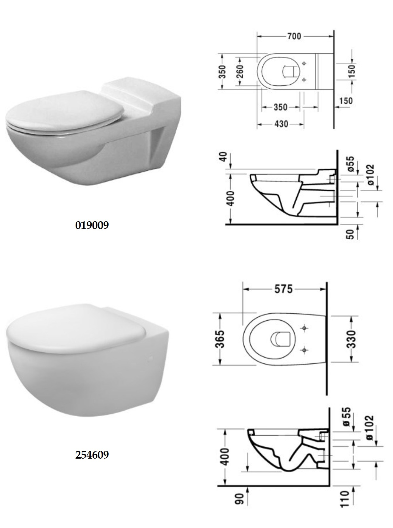 Sanitaryware-wcs-Architec WC-0