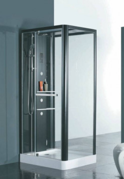 Shower  Enclosures-Infinity Black