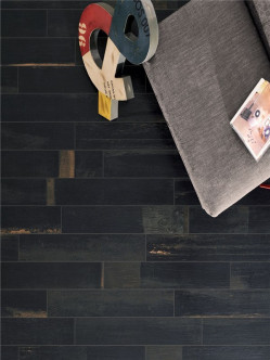 Tiles-Painted Wood Pitch Black