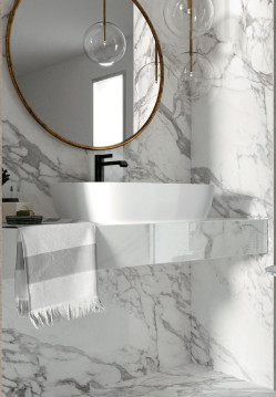 Bath Fittings-JW12 BIANCO LUNENSIS