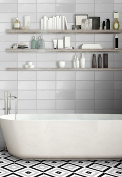 Tiles-Trendy Dorset White