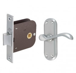 Bath Mirrors & Furniture-Lever Mortise Locks