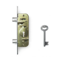 Home Security-4 Lever Narrow Stile Mortise Lock