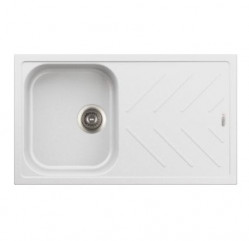 Kitchen Sinks-New Beethoven Single Bowl With Drainer