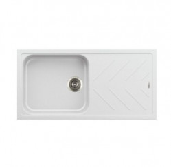 Kitchen Sinks-New Beethoven Single Large Bowl With Drainer