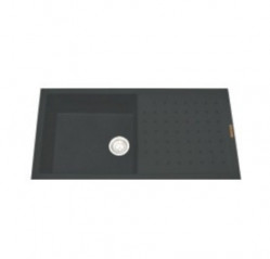 Kitchen Sinks-Polo Single Bowl With Drainer