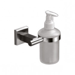 Bath Accessories-AX-8422 Liquid Soap Dispenser Glass