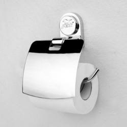 Bath Accessories-CS-3038 Toilet Paper Holder with Cover
