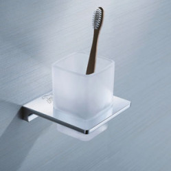 Bath Accessories-SG-61006 Glass Tumbler Holder