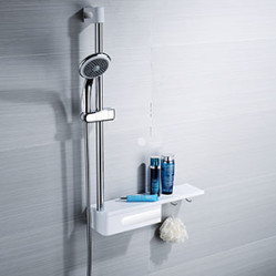 Shower  Enclosures-NC-40318DP 5-IN-1 SLIDING RAIL