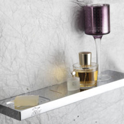 Bath Accessories-S401703 SHELF WITH SOAP DISH