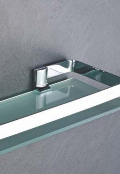 Shower  Enclosures-Shelf & Khutti
