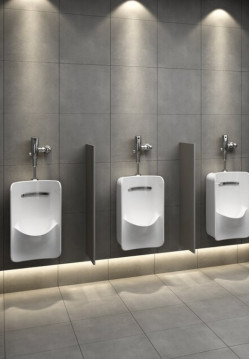 Bath Mirrors & Furniture-Starck 3 Urinal