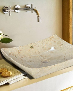 Bath Mirrors & Furniture-Zen Boat Ivory
